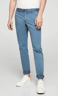 Mango Blue Chino pants