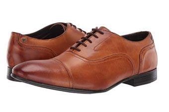 Cognac Oxford shoes