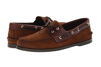 Sperry Dark Brown Boat Shoes
