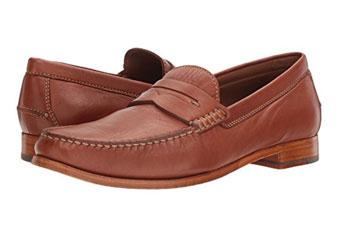 Trask Sadler Cognac Loafers