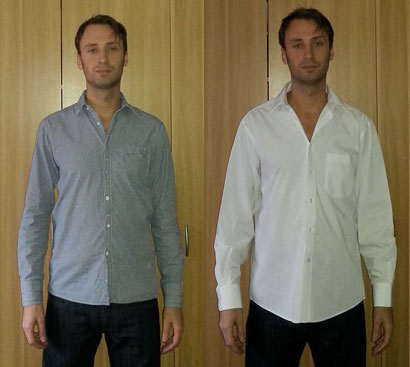"The 10-Step ""Does My Shirt Fit?"" Test"