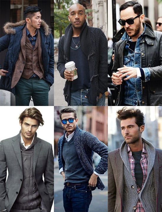 Examples of casual layered outfits