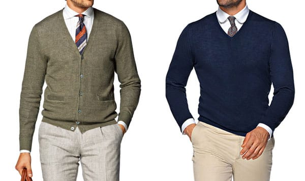 business casual sweater