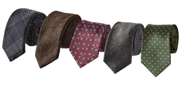 business casual ties