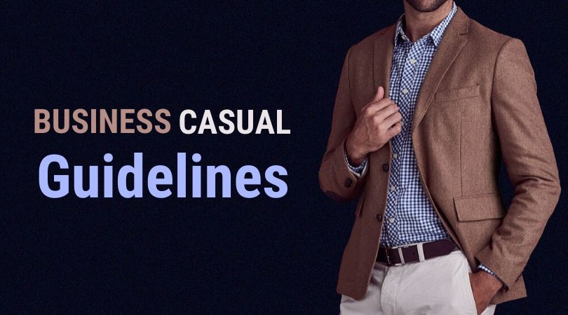 business casual guidelines