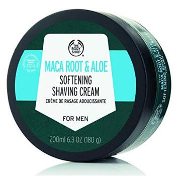 Body Shop Maca Root Shaving Cream