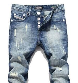 Acid wash jeans example
