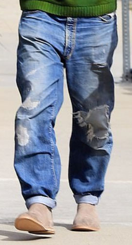 Baggy jeans example