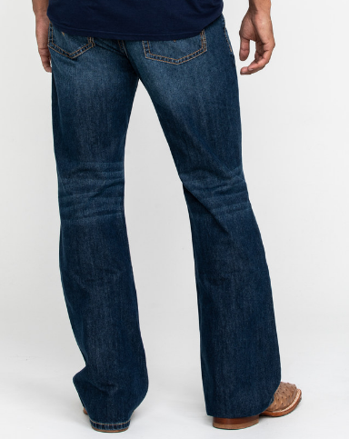 Bootcut jeans example