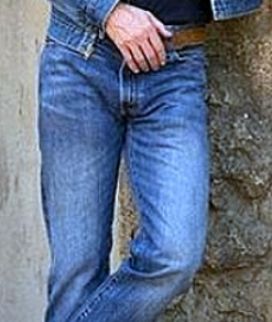 faded jeans example