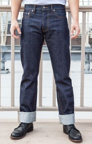 3Sixteen Raw Selvage Denim Jeans