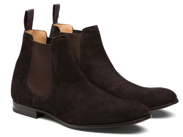 Church's Dixton Superbuck Dark Brown Suede Chelsea boots