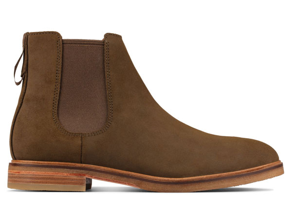 Clarks Clarkdale Suede Chelsea Boots
