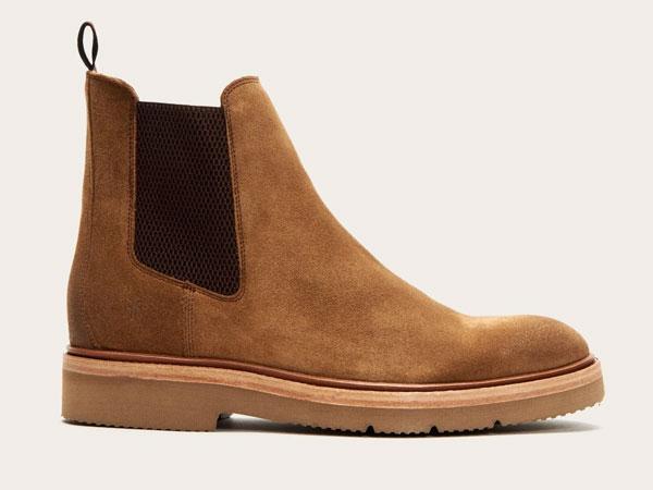 Frye Bowery Light tan Chelsea Boots