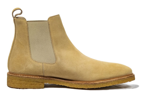 Idrese Tan Suede Chelsea Boots