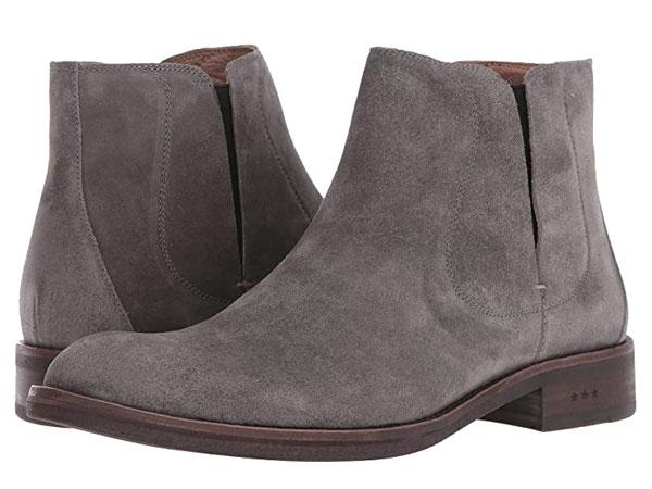 John Varvatos Grey Chelsea Boots