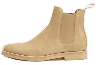 New Republic Sonoma Suede Chelsea Boots
