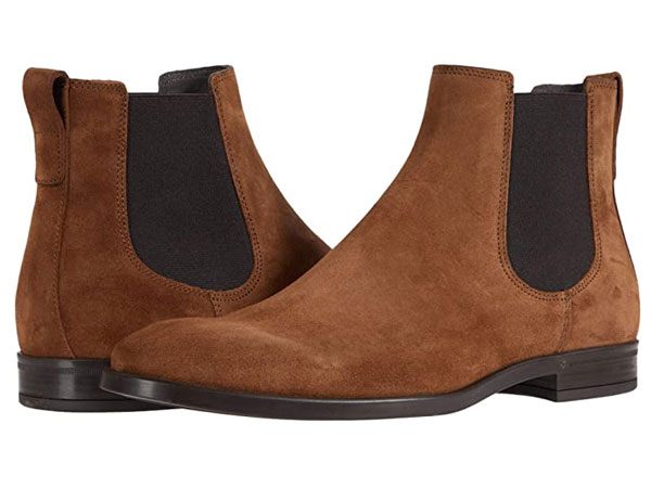 To Boot New York Light Brown Suede Chelsea Boots
