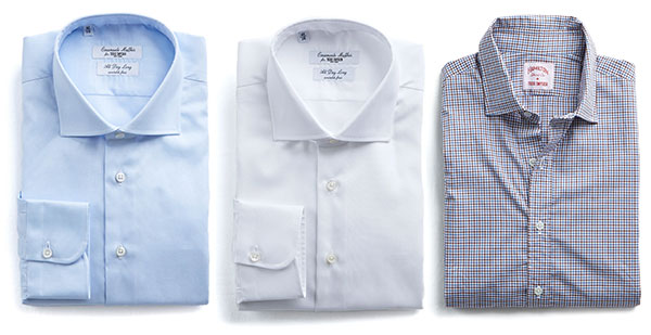 Todd Snyder Shirts in blue, white and check
