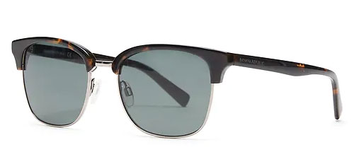Gradient clubmaster sunglasses