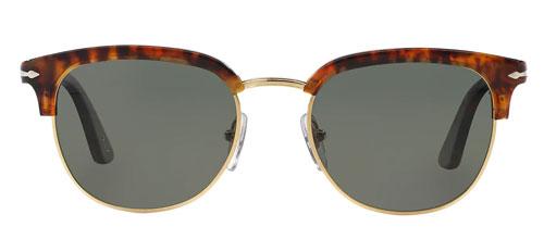Polarized green clubmaster sunglasses