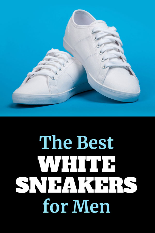 The Best White Sneakers for Men Title Card