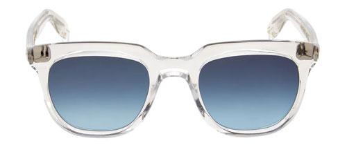 Crystal D-frame sunglasses
