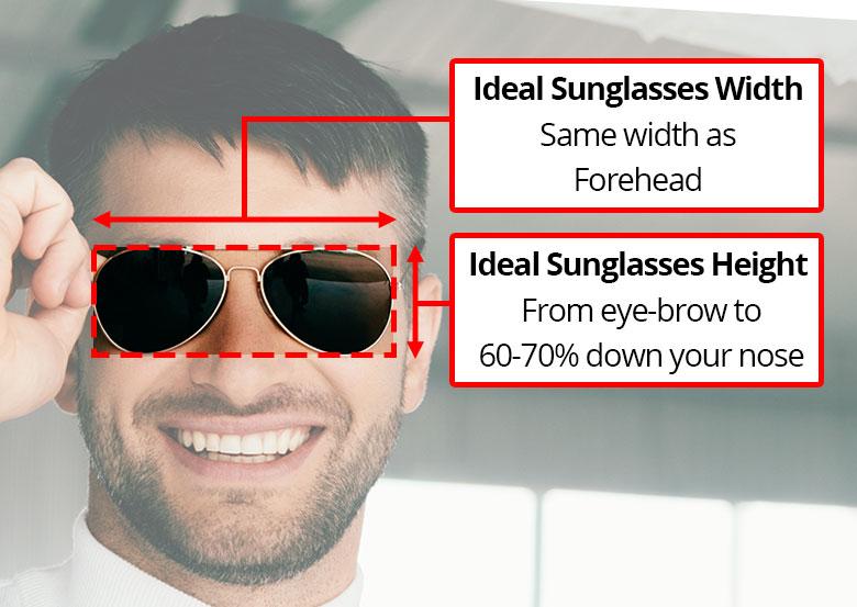best sunglasses size