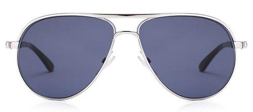 blue polarized aviators