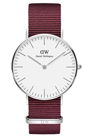 Red strap watch