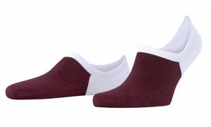 colored no-show socks