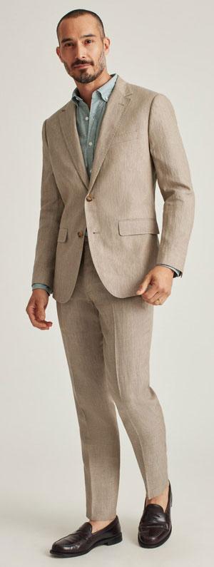 Italian linen suit