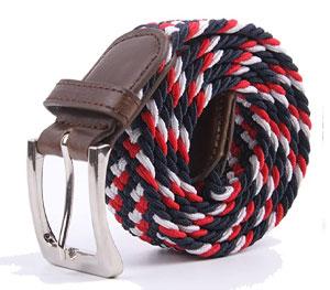 textured woven belt